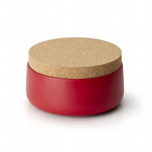 Storage Jar - Wide - Red